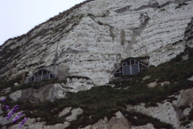 Climbers overnight cliffside huts--Al Forbes--july-24th-2016