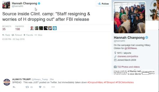 CBSNews-ClintonStaffRESIGNING-MayDropOut