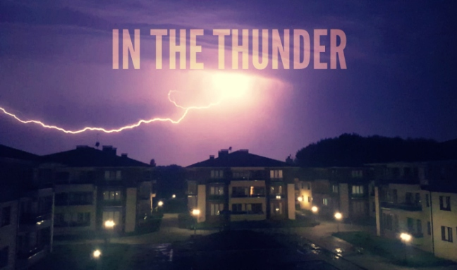 in the thunder